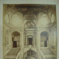 Fotografía antigua: J.LAURENT. MADRID 754 - ESCALERA PRINCIPAL DE PALACIO. Lote 24891735