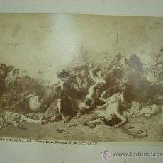 Fotografía antigua: J.LAURENT. FDOMINGO Y MARQUES 831 - ULTIMO DIA DE SAGUNTO. Lote 24892908