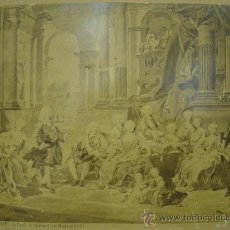 Fotografía antigua: J.LAURENT. 527 - LA FAMILIA DE PHILIPPE V (MUSEO DEL PRADO). Lote 24892956