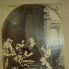 Fotografía antigua: J.LAURENT. MURILLO 484 - SAINTE ELIZABETH REINE DE HONQRIE QUERISSANT LES TEIQNEUX. Lote 24893112