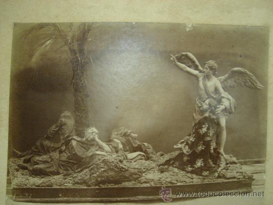 J.LAURENT. MURCIE 275 - LA MPIEDRA DEL JARDIN (Fotografía Antigua - Albúmina)