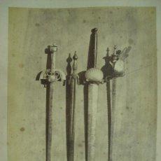 Fotografía antigua: J. LAURENT . 180 - ESCUDO DE ARMAS VARIAS. Lote 24910731