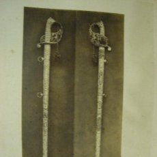 Fotografía antigua: J. LAURENT . 204 - ESPADA DE LUCHA DE UN GENERAL ESPATERO. Lote 24910745