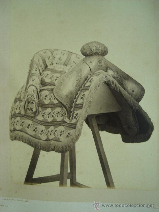 J. LAURENT . SILLA DE BATALLA DEL REY FELIPE II (Fotografía Antigua - Albúmina)
