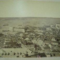 Fotografía antigua: J.LAURENT - VISTA DE LISBOA. Lote 24912139
