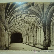 Fotografía antigua: J.LAURENT - BELEM (PORTUGAL) 803. GALERIA DE SAN JERONIMO. Lote 24912164