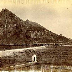 Fotografía antigua: GIBRALTAR. VISTA GENERAL TOMADA DESDE LA LÍNEA. POR J. LAURENT. Lote 25174559