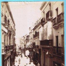 Fotografía antigua: Nº 100. SEVILLA. CALLE DE LAS SIERPES. E. BEAUCHY.. Lote 26499368