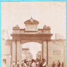Fotografía antigua: FOTOGRAFÍA DE TARRAGONA. PORTA DEL FRANCOLÍ. TORRES FOT.. Lote 26526757