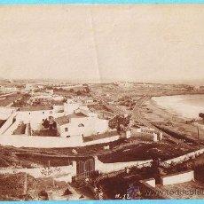 Fotografía antigua: FOTOGRAFÍA DE TARRAGONA. ANTIGUO PRESIDIO SOBRE EL ANFITEATRO ROMANO.. Lote 26526930