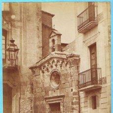 Fotografía antigua: FOTOGRAFÍA DE TARRAGONA. 12. IGLESIA DE SAN PABLO. TORRES FOTOGRAFO.. Lote 26528072