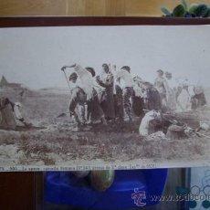 Fotografía antigua: R. TUSQUETS: LE OPERE, CAMPIÑA ROMANA - J. LAURENT - PINTOR CATALÁN, ALBÚMINA . Lote 26801112