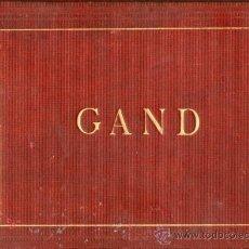 Fotografía antigua: ALBUM 12 FOTOGRAFIAS GAND. 1883. Lote 26815714
