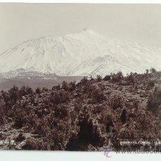 Fotografía antigua: PICO DEL TEIDE, TENERIFE. FOTOGRAFÍA ALEMANA, TENERIFE. 1890'S-1900'S.. Lote 27643993