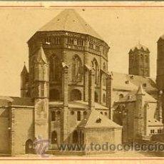 Fotografía antigua: FOTOGRAFIA ANTIGUA. ALBUMINA. CABINET. ST. GEREON. Lote 27701164