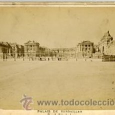 Fotografía antigua: FOTOGRAFIA ANTIGUA. ALBUMINA. PALAIS DE VERSAILLES. PARIS. PERIER EDITEUR. GABINET. Lote 27701230