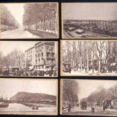 Fotografía antigua: 6 FOTOGRAFIAS EN ALBUMINA SOBRE CARTONÉ DE BARCELONA SOBRE EL AÑOS 1890 APROX.. Lote 28286004