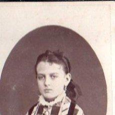 Fotografía antigua: FOTOGRAFIA ANTIGUA DE UNA NIÑA. Lote 28586009