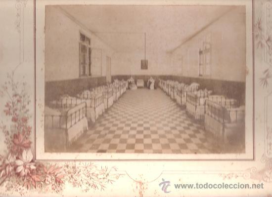 CADIZ. SANATORIO MADRE DE DIOS. PRINCIPIOS SIGLO XX. FOTO M. POL (Fotografía Antigua - Albúmina)