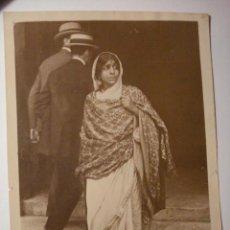 Fotografía antigua: 536 SAROJINI NAIDU POETISA INDU Y ACTIVISTA POLITICA POR LA INDEPENDENCIA 1879-1949 RARA FOTOGRAFIA. Lote 28669014