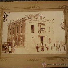 Fotografía antigua: CA. 1880. CASA SEÑORIAL DE SANTANDER. ZENON QUINTANA. CANTABRIA. Lote 28778808