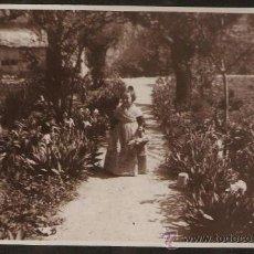 Fotografía antigua: ANTIGUA FALLERA INFANTIL. LABORATORIO ESCUDER. VALENCIA. Lote 28822325
