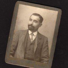 Fotografía antigua: ANTIGUA FOTOGRAFIA J.E.PUIG - PELAYO 30 - BARCELONA. Lote 178973282