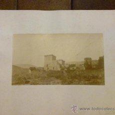 Fotografía antigua: FOTOGRAFIA Nº 356 FOTOGRAFO CHARLES CLIFFORD JARANDILLA DE LA VERA. CÁCERES. CASTILLO DUQUE DE FRIAS. Lote 29198606