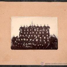 Fotografía antigua: MILITARES - FOTO 7X10 CM.- CARTON 14X17 CM. - VER FOTO ADICIONAL- (F-160). Lote 29628561