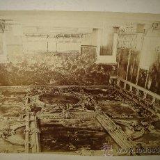Fotografía antigua: VENECIA, SALA DEL GRAN CONCILIO DEL PALACIO DUCAL, NAYA, 26X36. Lote 29678297