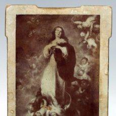 Fotografía antigua: FOTOGRAFÍA INMACULADA DE MURILLO PP S XX SIN NOMBRE ESTUDIO. Lote 29774205
