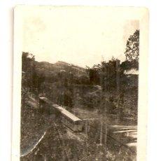 Fotografía antigua: FOTO ORIGINAL DE UN FUNICULAR (TEMA FERROCARRIL). Lote 29875258
