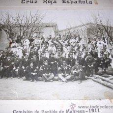 Fotografía antigua: MANRESA - LOTE DE 3 FOTOGRAFIAS , 2 FOT.DE LA CRUZ ROJA ESPAÑOL 1911 + 1 RETRATO ., VER FOTOGRAFIAS. Lote 29898831