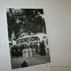 Fotografía antigua: ANTIGUA FOTOGRAFÍA: ( 8.5 X 6 CM)- EXCURSIÓN A SANTIAGO, 1949. Lote 30014825
