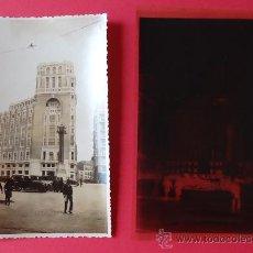 Fotografia antica: FOTOGRAFÍA + NEGATIVO DE LA GRAN VÍA, PALACIO DE LA PRENSA, MADRID. 1924. 9,2 X 14,2 CM. J. VILLAR.. Lote 30040932