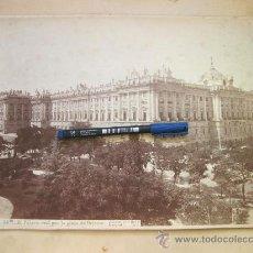Fotografía antigua - FOTOGRAFIA DE MADRID 34 BIS - PALACIO REAL POR LA PLAZA DE ORIENTE - J. LAURENT 1880 - 31374265