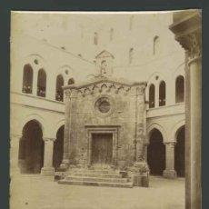 Fotografía antigua: IGLESIA DE SAN PABLO. TARRAGONA. MAGNÍFICA FOTO DE J. E. PUIG. C. 1880. Lote 30621605