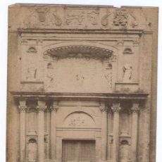 Fotografía antigua: MONTSERRAT, FACHADA DE LA IGLESIA, FOTO: J.E.PUIG, 1890'S. 20X16 CM.. Lote 30785470