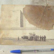 Fotografía antigua: 8 FOTOGRAFIAS DE FINALES DEL S XIX - ALMARAZ - CACERES. Lote 31457348