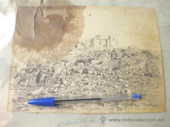 Fotografía antigua: 2 FOTOGRAFIAS DE FINALES DEL S XIX - GUADALUPE Y CASTILLO DE BELVIS - CACERES - Foto 2 - 31457182