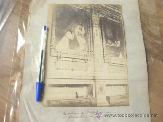 Fotografía antigua: 7 FOTOGRAFIAS DE FINALES DEL S XIX - MONASTERIO DE GUADALUPE - CACERES - Foto 5 - 31457565