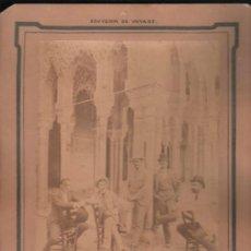 Fotografía antigua: ALBÚMINA SOBRE CARTÓN, ANTONIO SICRE, P.GÓMEZ, F. ARBOLEYA, R. SOBRINO, ABARZUZA, GARZÓN, CÁDIZ 1898. Lote 31065679