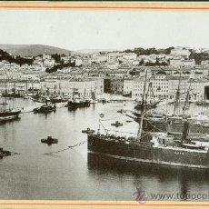 Alte Fotografie - ITALIA. TRIESTE.EL PUERTO. HACIA 1880. - 31100720