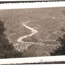 Fotografía antigua: MONTSERRAT. VISTA DE MONISTROL. ANY 1941. Lote 31136452