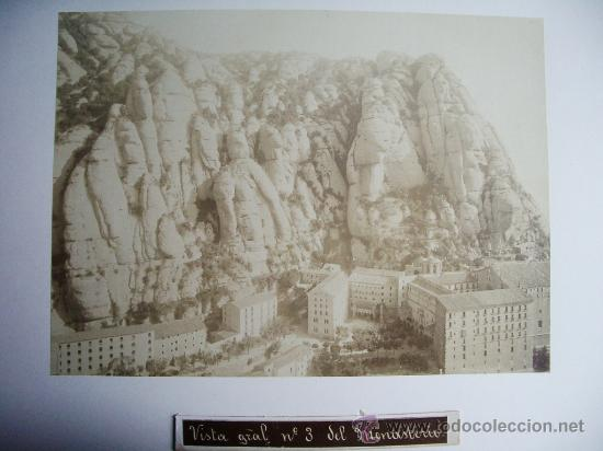 1888-MONTSERRAT.BARCELONA.JOSÉ LUIS PUIG. FOTO ORIGINAL.ALBÚMINA (Fotografía Antigua - Albúmina)