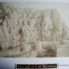 Fotografía antigua: 1888-MONTSERRAT.BARCELONA.JOSÉ LUIS PUIG. FOTO ORIGINAL.ALBÚMINA. Lote 31243685