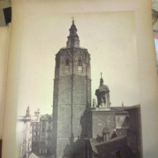 Fotografía antigua: FOTOGRAFIA ALBUMINA ORIGINAL. VALENCIA. 898 EL MIGUELETE. J. LAURENT. MADRID. . Lote 31352992