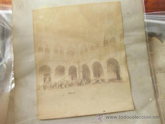 Fotografía antigua: 7 FOTOGRAFIAS DE FINALES DEL S XIX - MONASTERIO DE GUADALUPE - CACERES - Foto 7 - 31457565