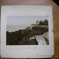 Fotografía antigua: TRASMIERA FOTO ANTIGUA,ALBÚMINA,GRANADA ALHAMBRA,FINALES SIGLO XIX. Lote 31653237