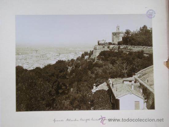 Fotografía antigua: TRASMIERA FOTO ANTIGUA,ALBÚMINA,GRANADA ALHAMBRA,FINALES SIGLO XIX - Foto 5 - 31653237